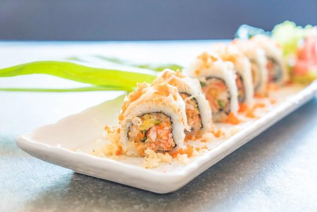 Rotolo di sushi maki tempura