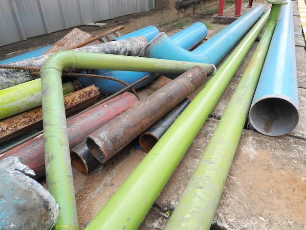 Rottami di tubi d'acciaio