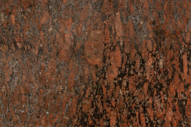 Ruggine che si stacca dalla superficie di metallo