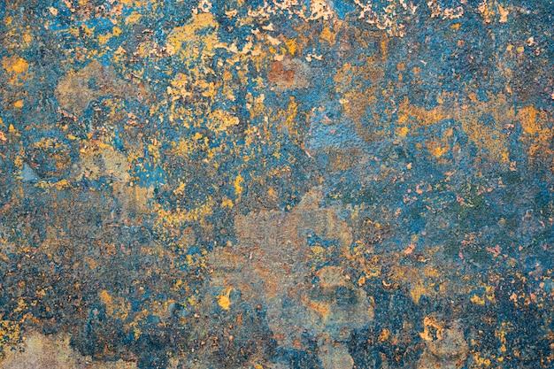 Ruggine della parete di ferro