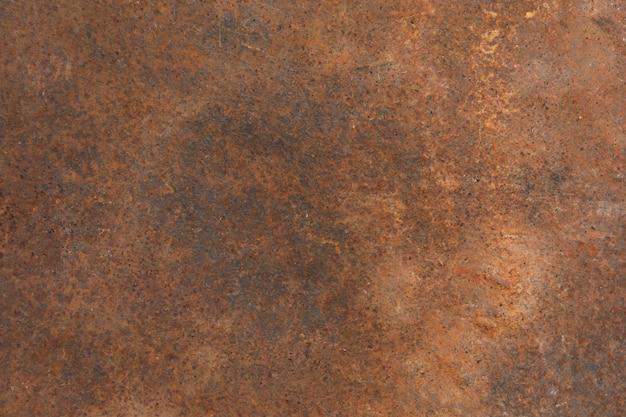 Ruggine sulla lamiera sottile, fondo della ruggine di lerciume