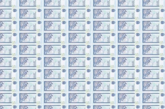 Rupie dello sri lanka fatture stampate nel nastro trasportatore di produzione di denaro