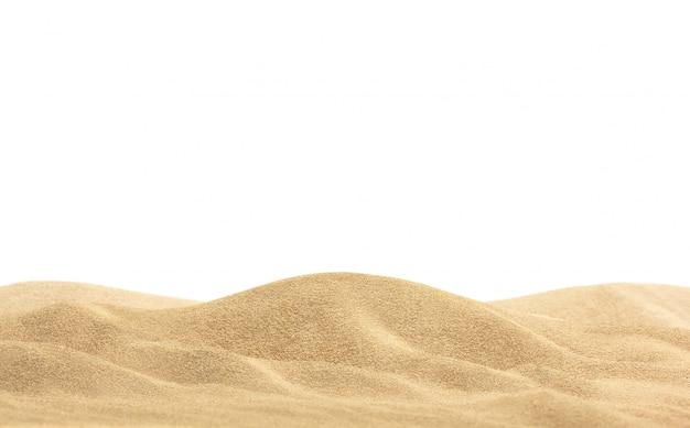Sabbia del deserto isolata