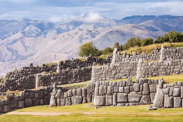 Saksaywaman a cusco in perù