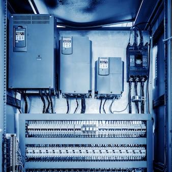 Sala di controllo macchinari