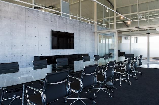 Sala riunioni moderna