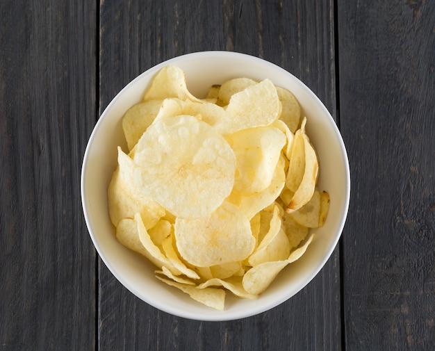 Salata pranzo fetta di patata malsano