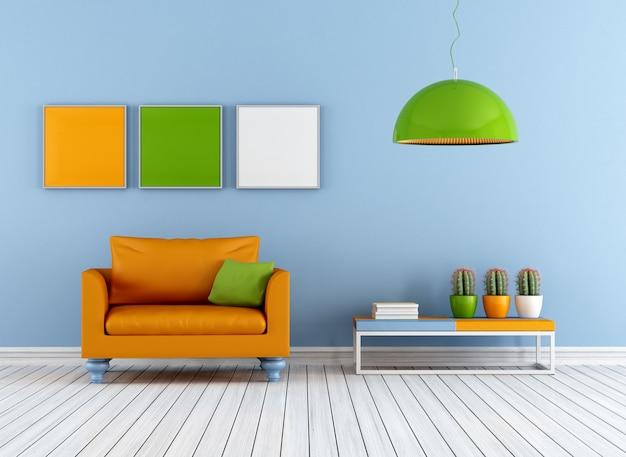 Salotto colorato