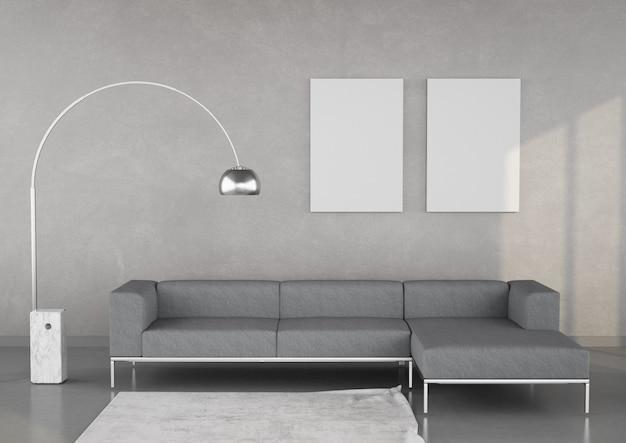 Salotto moderno ed elegante