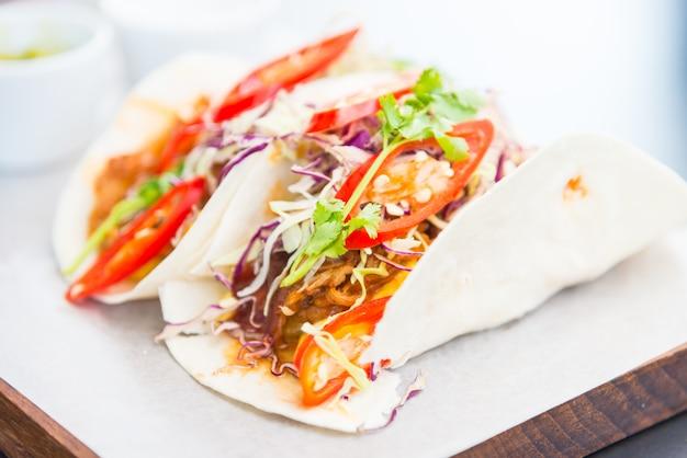 Salsa taco