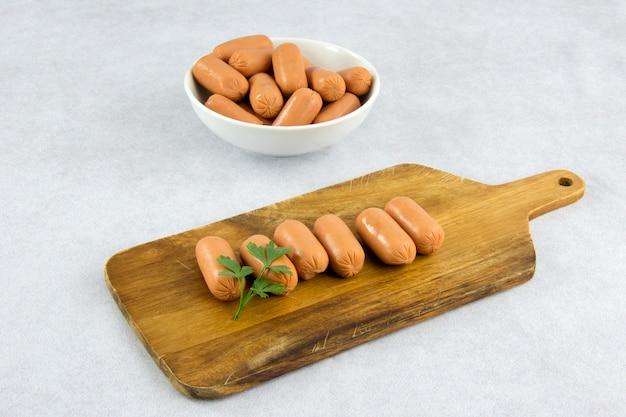 Salsicce crude per antipasti
