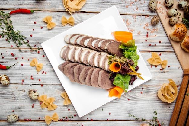 Salsiccia di cavallo tradizionale nazionale kazaka kazy