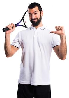 Salute atleta vittoria bel tennis