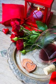 San valentino in stile vintage