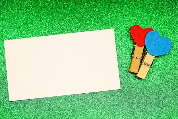 San valentino sfondo. posto vuoto per copia spazio per il testo