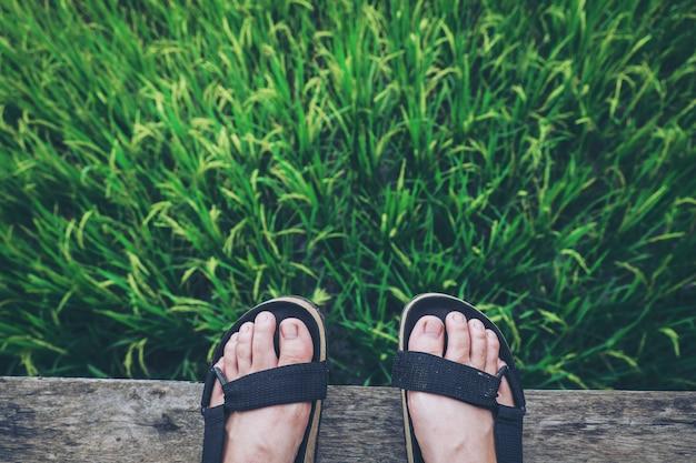 Sandali in vacanza