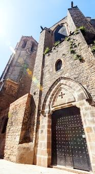 Santa maria del pi al barrio gotico