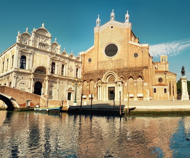 Santa maria gloriosa dei frari a venezia, italia