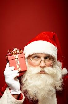 Santa presente vacanza invernale capodanno