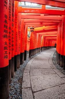 Santuario fushimi inari a kyoto
