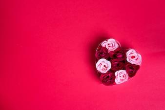 Sapone decorativo sotto forma di rose