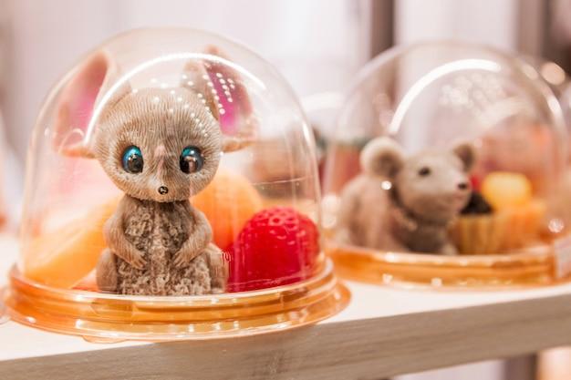Sapone di topo in una vetrina