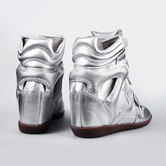 Scarpe argento scarpe italiane scarpe moda donna