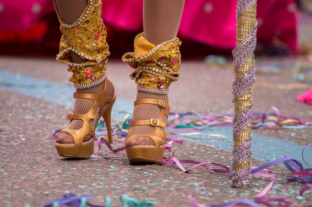 Scarpe femminili carnevale