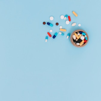 Scatola con pillole