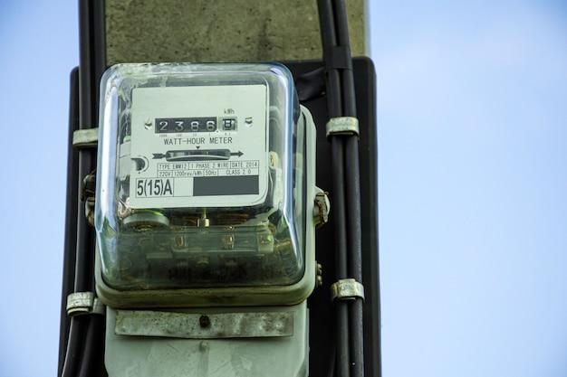 Scatola del contatore di elettricità