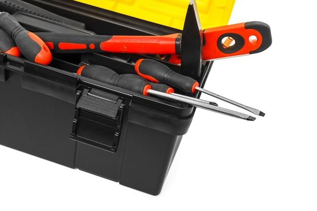 Scatola del toolkit isolata