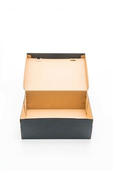 Scatola di scarpe nere
