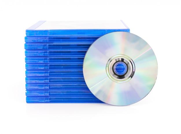 Scatola dvd con disco