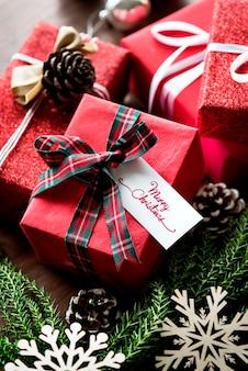Scatole regalo di natale
