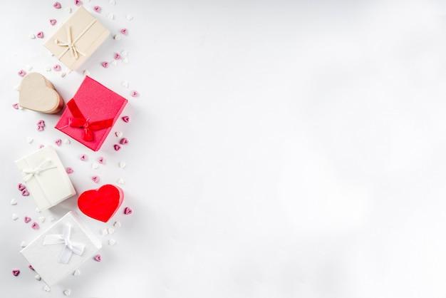Scatole regalo regali di san valentino