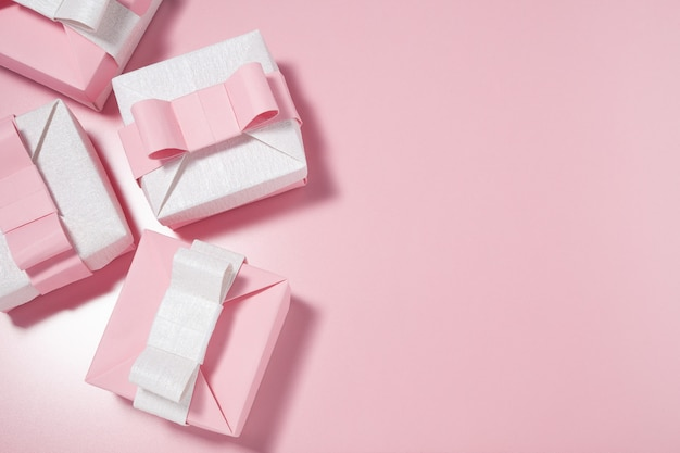Scatole rosa