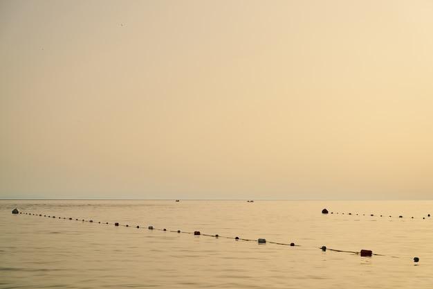 Scena della spiaggia rilassante