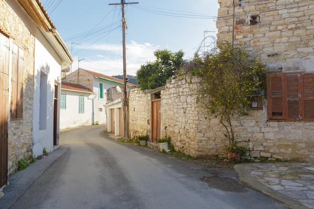 Scena di strada in una vecchia città in europa