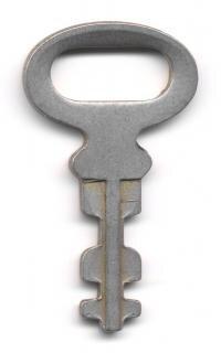 Scheletro chiave vintage