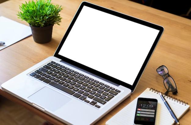 Schermo bianco portatile da tavolino