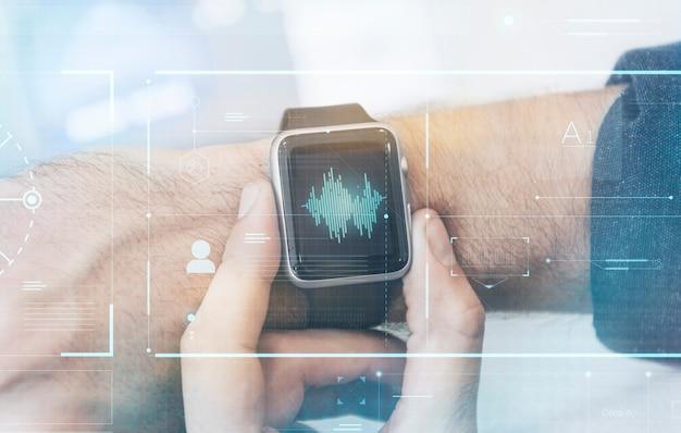 Schermo smartwatch