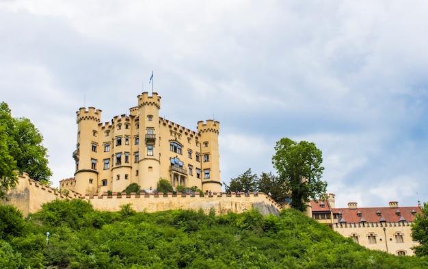 Schwangau, germania - 05/12/2018: castello di hohenschwangau