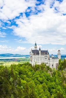 Schwangau, germania - 05/12/2018: castello di neuschwanstein