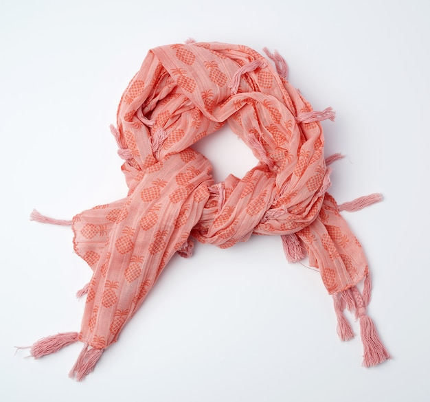 Sciarpa donna rosa