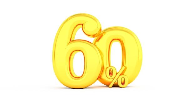 Sconto del 60% dorato