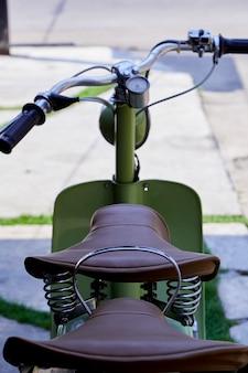 Scooter italiano vintage della lambretta