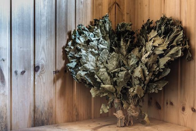 Scopa di quercia nella sauna
