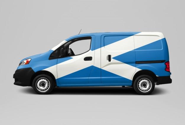 Scotland van - consegna e corriere