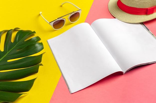 Scrittura del diario summer beach vacation