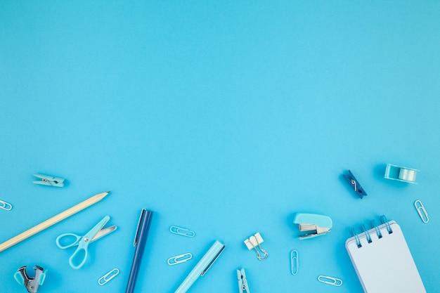 Scrivania dell'area di lavoro in stile design per ufficio sfondo